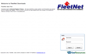 FleetNet Model Code Website